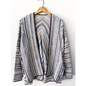 LUCKY BRAND POTTERY SWEATER CARDIGAN SZ S $129